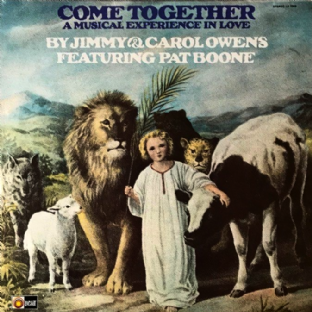 Jimmy & Carol Owens ft Pat Boone ‎- Come Together: A Musical Experience In Love (LP) (VG-/VG-)